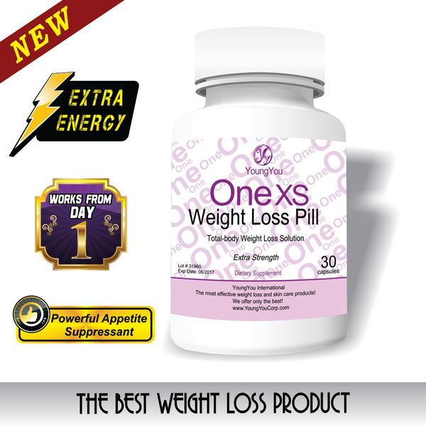 One XS Weight Loss Pills. Extra Strength Appetite Suppressant and Fat Burner. by Weightlosspills