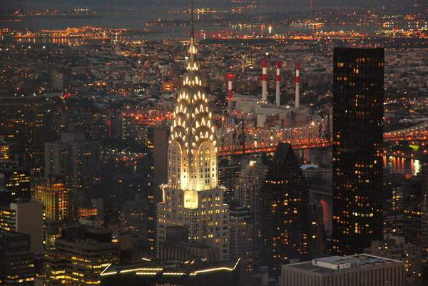 Chrysler Building from the ESB