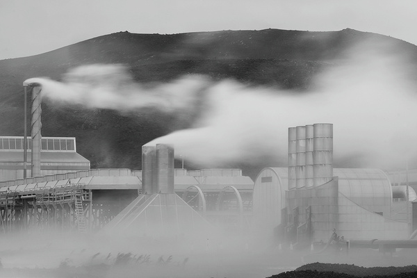 thermal power plant - Iceland - Tony Sweet
