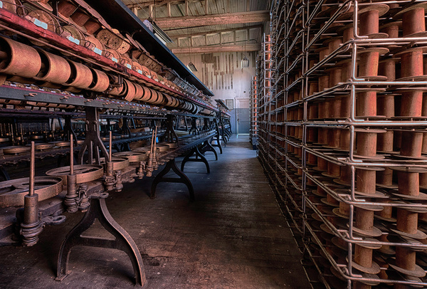 Lonconing silk mill, MD by Tony Sweet