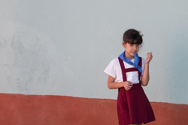 school girl - Cuba - Tony Sweet