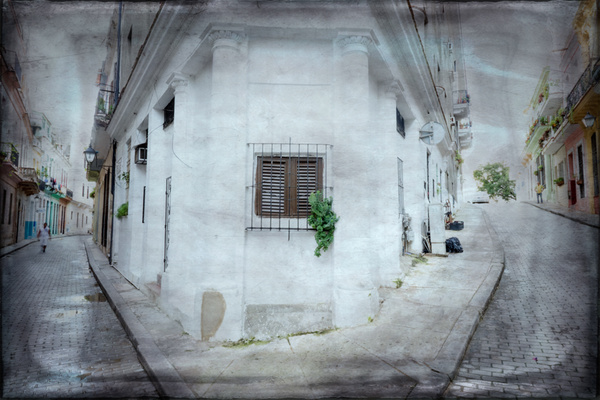 textured havana scene - Cuba - Tony Sweet