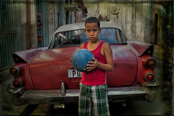 ball player - Cuba - Tony Sweet