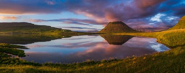 Mt. Kirkjufell, Iceland - Stitched pans - Tony Sweet
