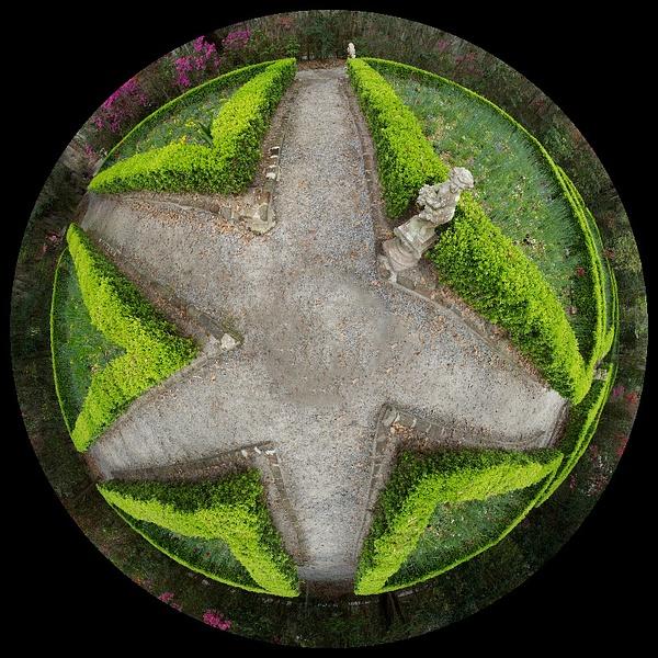 Magnolia sculpture garden, SC - Stitched pans - Tony Sweet