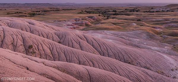 Horseshoe bend - Badlands NP, SD - Tony Sweet