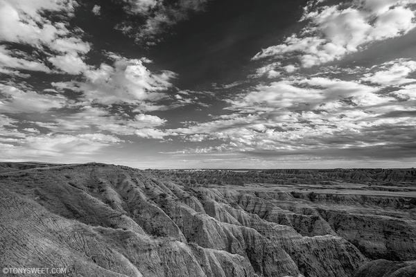 Hay Butte - Badlands NP, SD - Tony Sweet