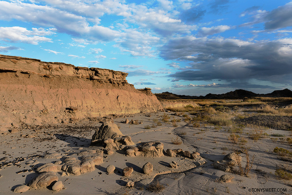 approaching storm - Badlands NP, SD - Tony Sweet