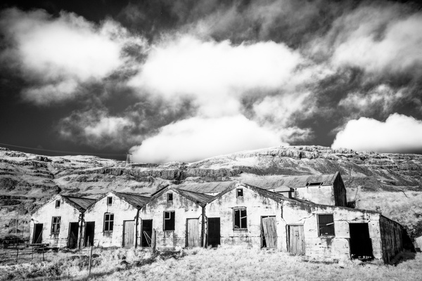 South Coast farm infrared - Iceland Sept. 2016 - Tony Sweet
