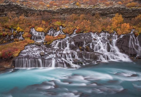 Hraunfoss - Iceland Sept. 2016 - Tony Sweet