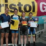 Exeter Uni-BikeShed- Women's Team 2015- Bristol GP
