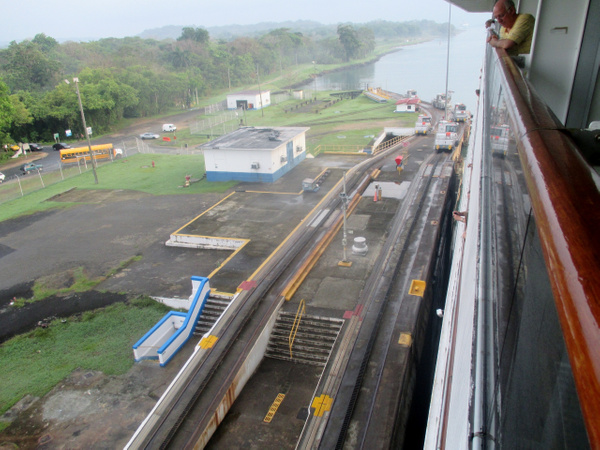 Panama Canal by DickFoster by DickFoster