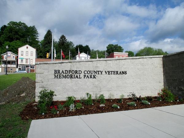 Bradford County Veterans Memorial, June 2015 by DickFoster by DickFoster