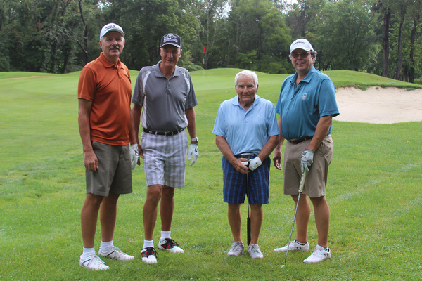 2017 Golf Fundraiser Foursomes by Jumonville Camp