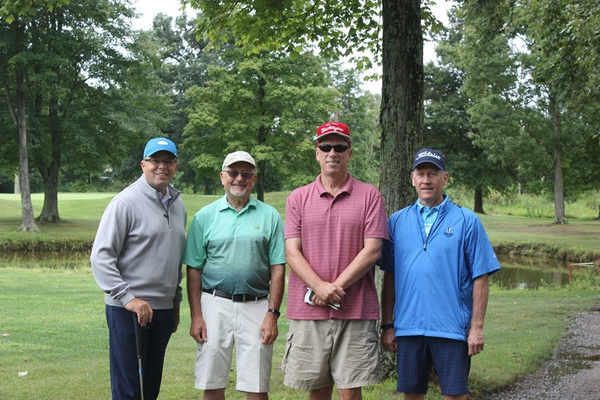 2019 Golf Fundraiser Foursomes by Jumonville Camp