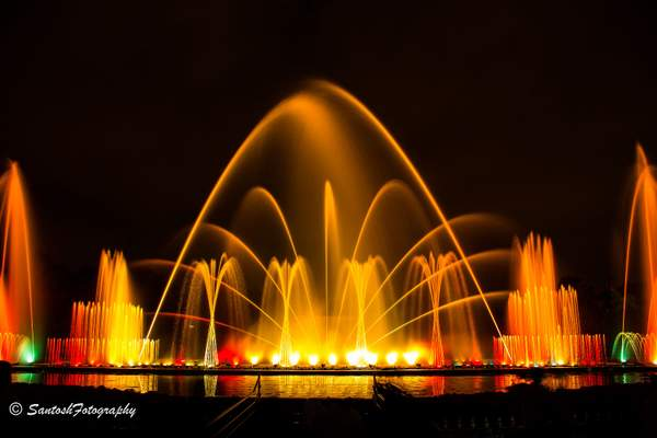 JP Park Musical Fountain