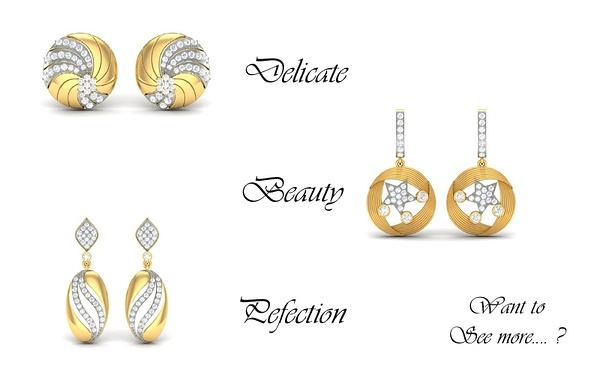 Diamond Earrings at HeileigDiamonds by Heileigdiamonds