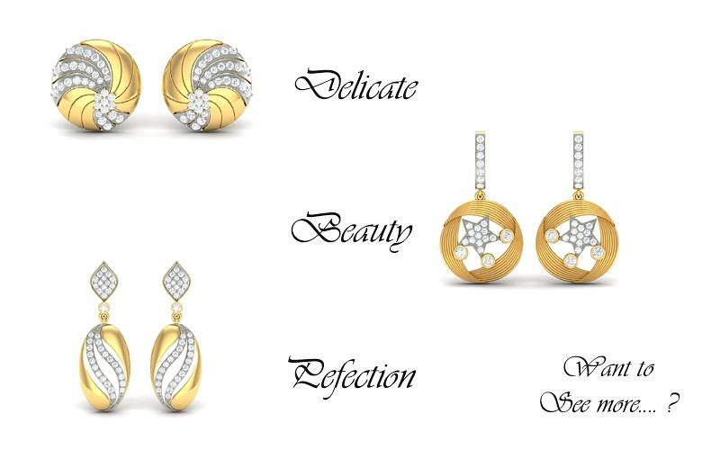 Diamond Earrings at HeileigDiamonds