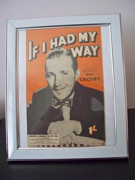 Bing Crosby by Stuart Alexander Hamilton