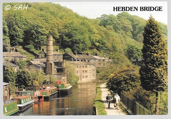 hebdenbridge by Stuart Alexander Hamilton