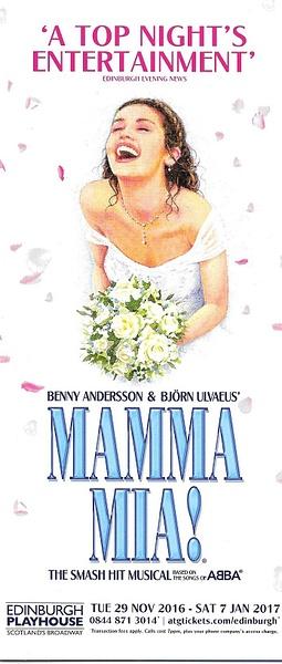 mammamiaedin by Stuart Alexander Hamilton