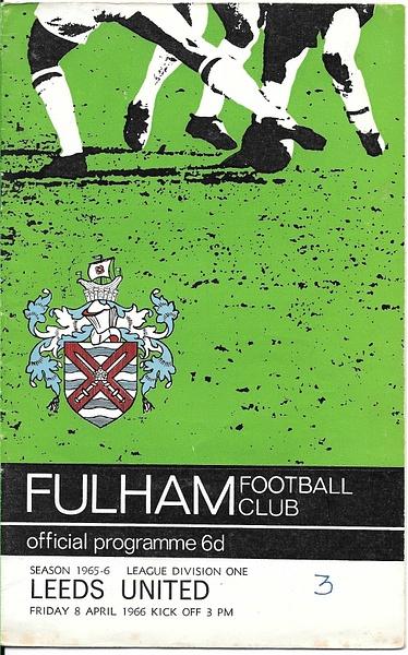 fulham1966 by Stuart Alexander Hamilton