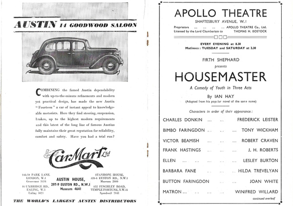 housemaster2 by Stuart Alexander Hamilton
