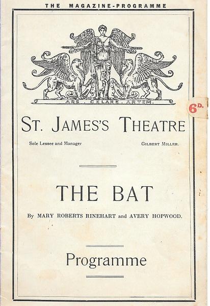 thebat by Stuart Alexander Hamilton