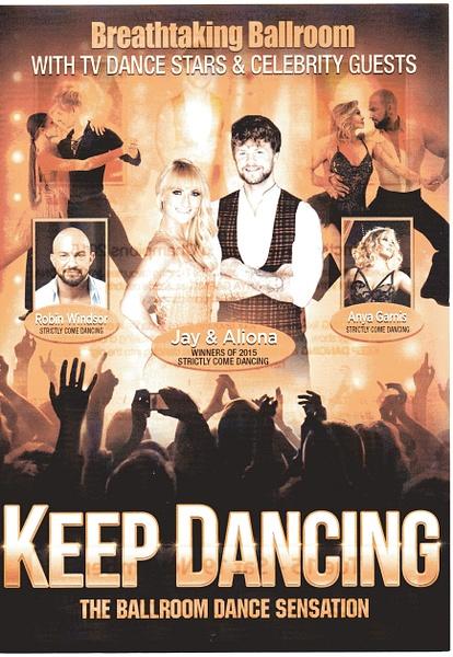 dancing by Stuart Alexander Hamilton