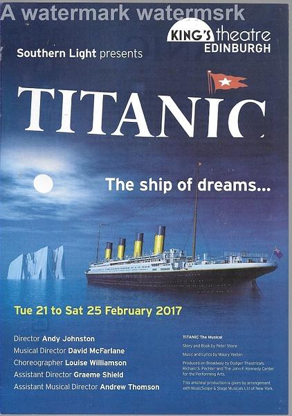 titanic by Stuart Alexander Hamilton
