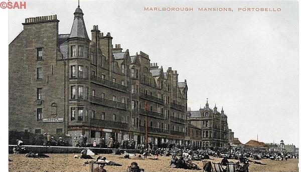 Marlborough Mansios by Stuart Alexander Hamilton
