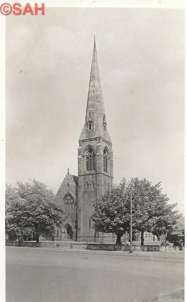 St Philips Church by Stuart Alexander Hamilton