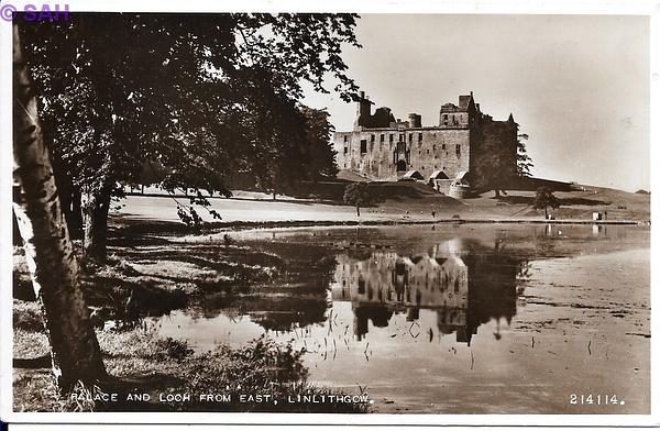Linlithgow Palace by Stuart Alexander Hamilton