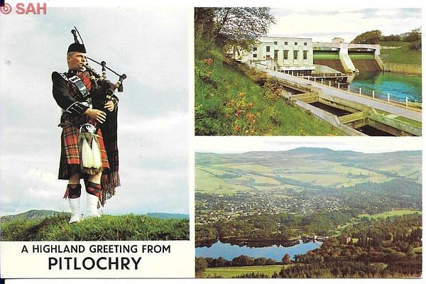 Pitlochry by Stuart Alexander Hamilton