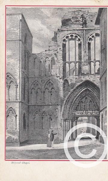 HOLYROODCHAPEL1545 by Stuart Alexander Hamilton