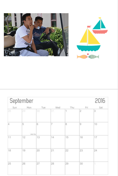 Calendar Project by ValerieSagun