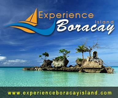 Experience Boracay island Logo by Marie11
