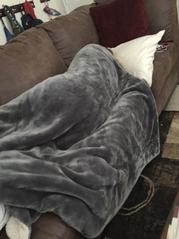 Girlfriend sleeping at my house again !!!