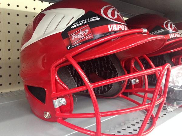 red helmet by VanessaFrese