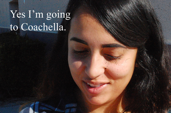 going to coachella by VanessaFrese