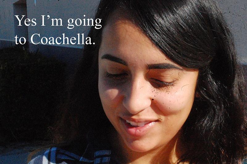 going to coachella