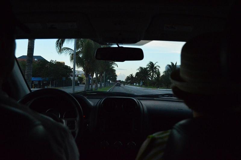drivin around