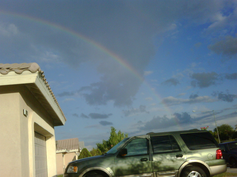 Summer rainbows of death