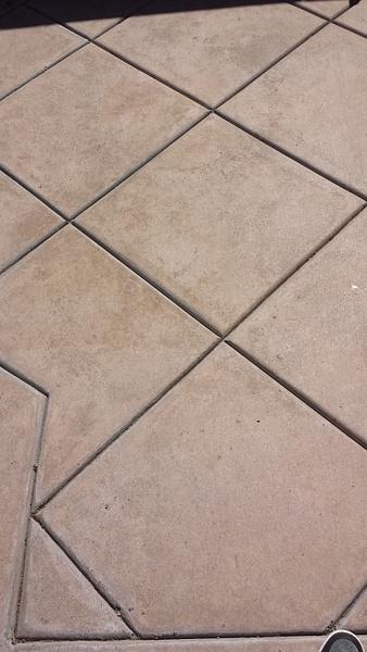 Tiled way by Jose Martinez