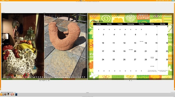 Calendar April by Jose Martinez