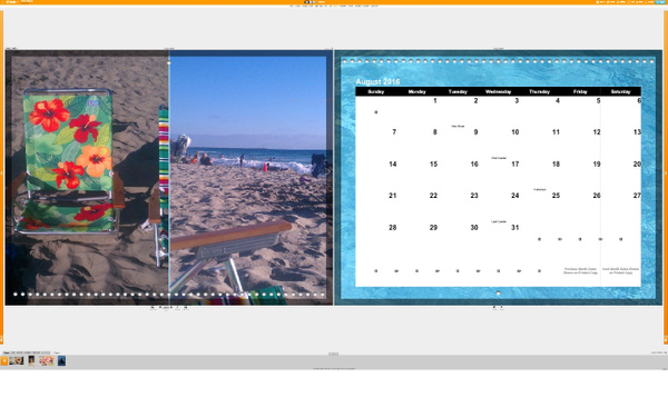 Calendar August by Jose Martinez