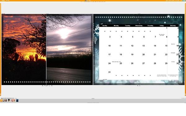 Calendar January by Jose Martinez