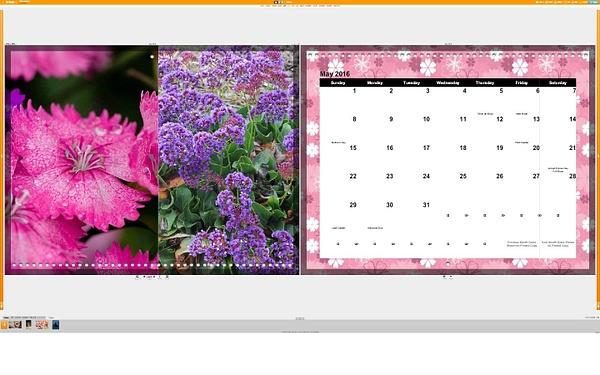 Calendar May by Jose Martinez