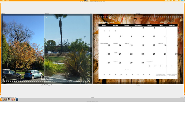 Calendar November by Jose Martinez