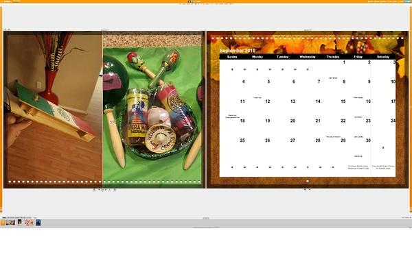 Calendar September by Jose Martinez